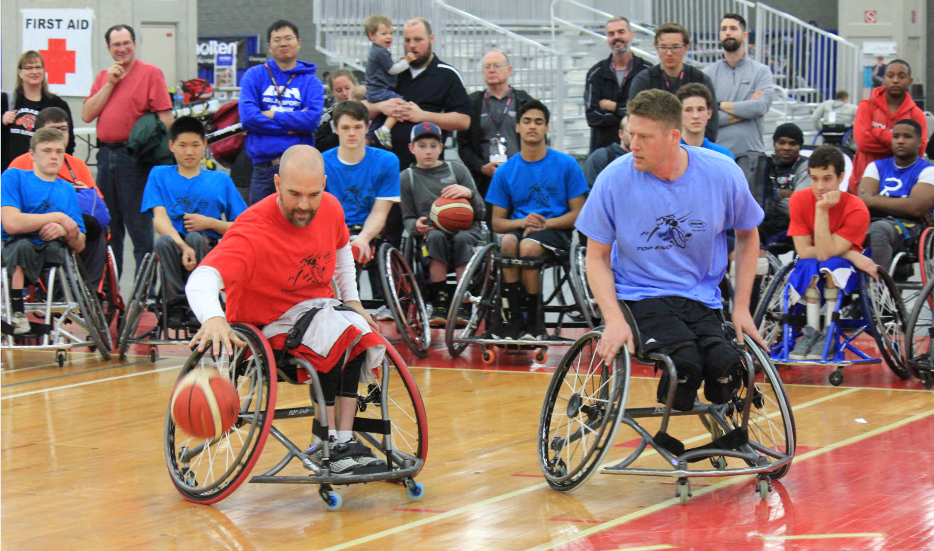 Paul Schulte, Paralympian and Invacare Top End Engineering Manager