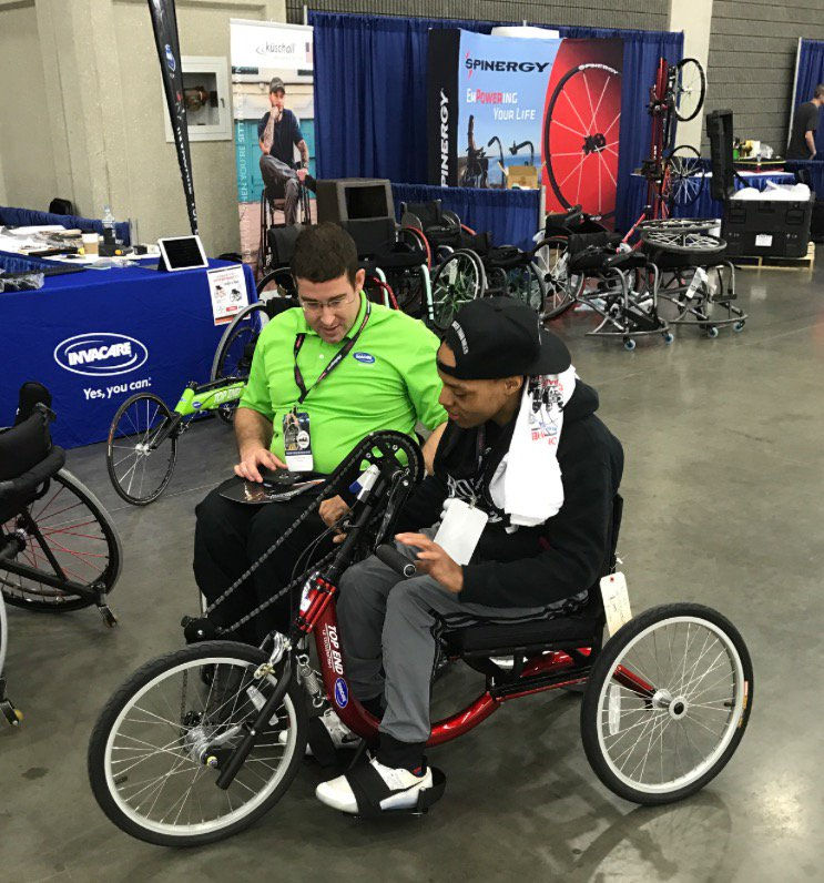 Invacare Top End Booth at NWBA 2017