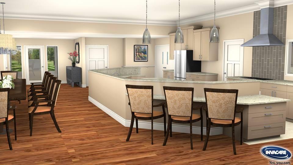 Invacare Interior Design Resident Kitchen