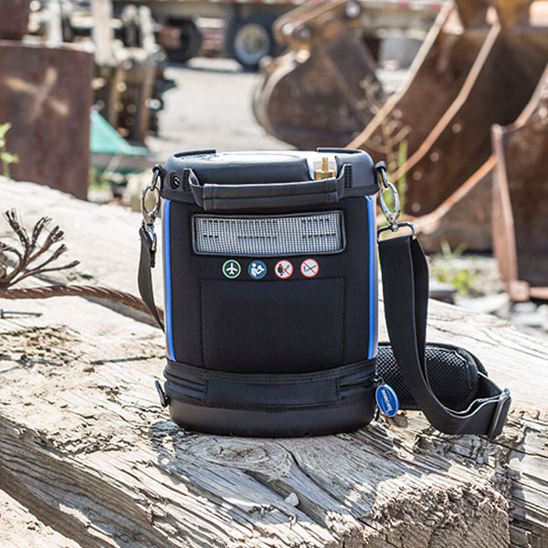 invacare's new portable oxygen concentrator the platinum mobile oxygen concentrator