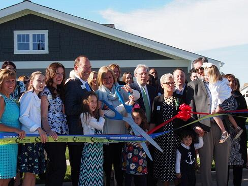 Cottages of Lake St. Louis ribbon cutting - Invacare Interior Design