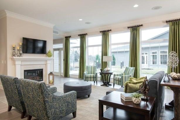 Invacare Interior Design's design for Cottages of Lake St. Louis