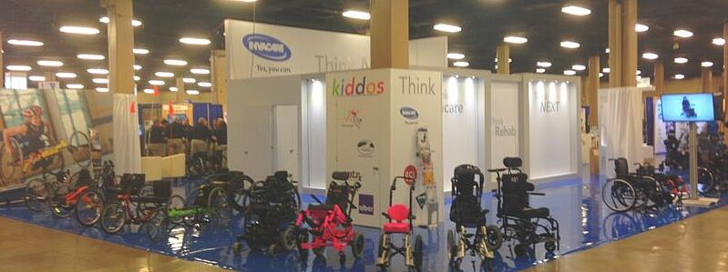 Invacare ISS 2017 Booth