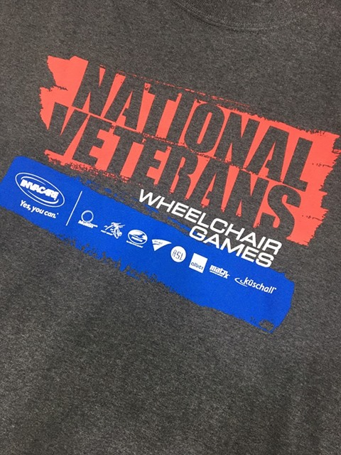 The NVWG t-shirt giveaway was a huge hit during Expo day!