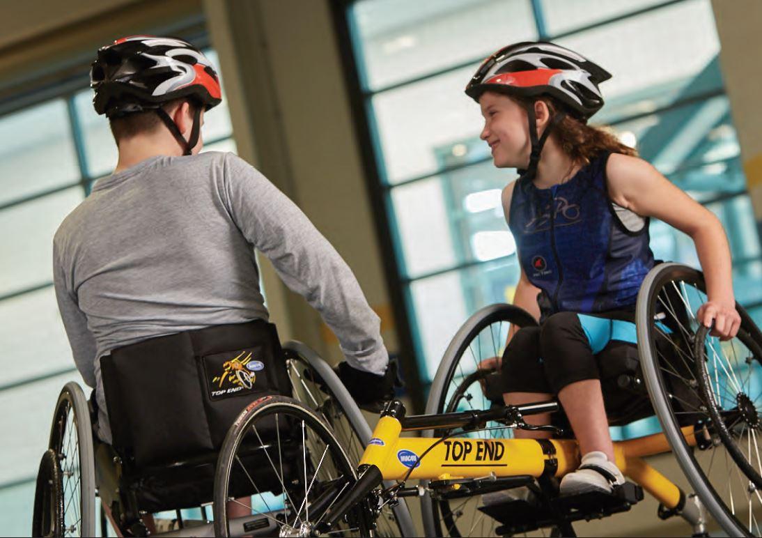 Invacare Top End Preliminator Racing Wheelchair