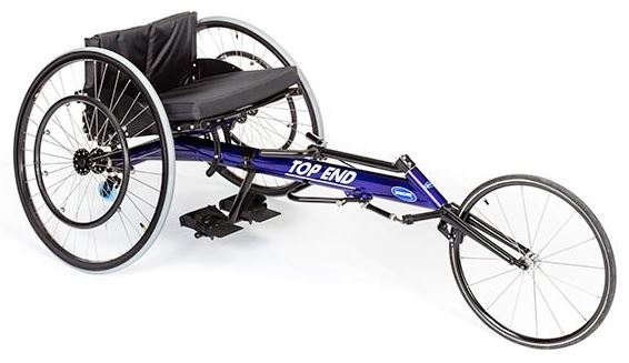 Invacare Top End Blue Preliminator Racing Wheelchair